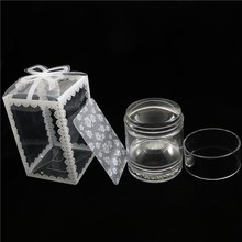 New 1pc  Jelly Stamper with Rhinestones Double-head Nail Art Clear Silicone Marshmallow & Scraper 4cm