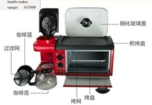 china guandong tsk-2871 EUPA 3in1 breakfast maker Bread machine Coffee roaster breakfast machine Fried Eggs 110-220-240v недорого