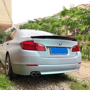 For BMW F10 F18 Spoiler High Quality Carbon Fiber Material Spoiler For BMW M5 520i 528i 535i 530i 525i F10 F18 Spoiler