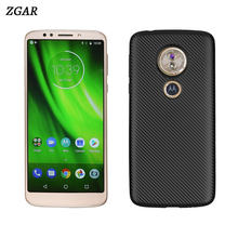 Back Case for Motorola Moto G6 Play G6Play Dirt Resistant Soft Covers TPU Phone Bags Cases for Motorola Moto G6 Play Coque ZGAR(China)