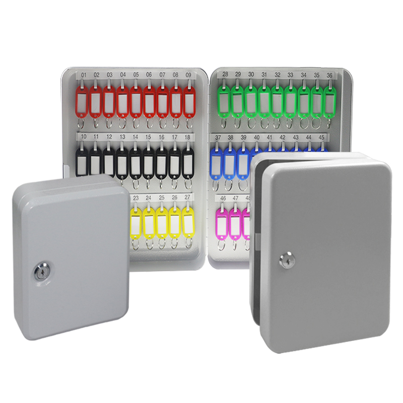 Wall Mounted Key Cabinet Password Lock Security Keybox Storage Box Contains 72key card For Company Home Office Hanging Car KeysWall Mounted Key Cabinet Password Lock Security Keybox Storage Box Contains 72key card For Company Home Office Hanging Car Keys