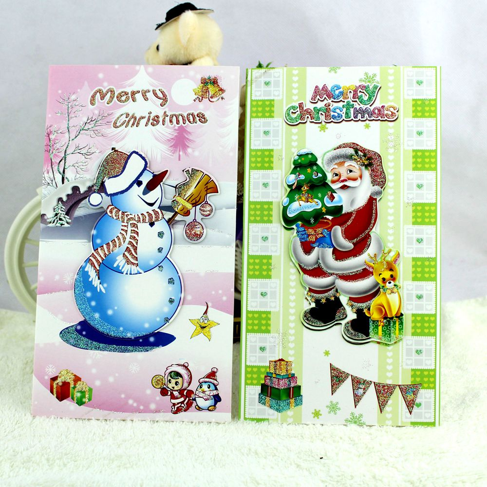 Creative Cute And Lovely Christmas Cards C02 02 Postcard Best Wish For Friends And Family 8pieces Set On Aliexpress Alibaba Group