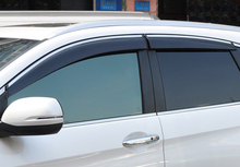 4PCS Exterior Side Window Vent Shades Deflector Guard Mouldings For Honda CR-V 2012-2016