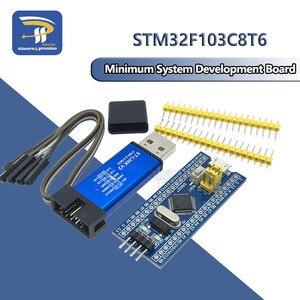 Image 1 - STM32F103C8T6แขนSTM32โมดูลการพัฒนาระบบขั้นต่ำสำหรับArduino DIY Kit ST Link V2 Mini STM8จำลองดาวน์โหลด