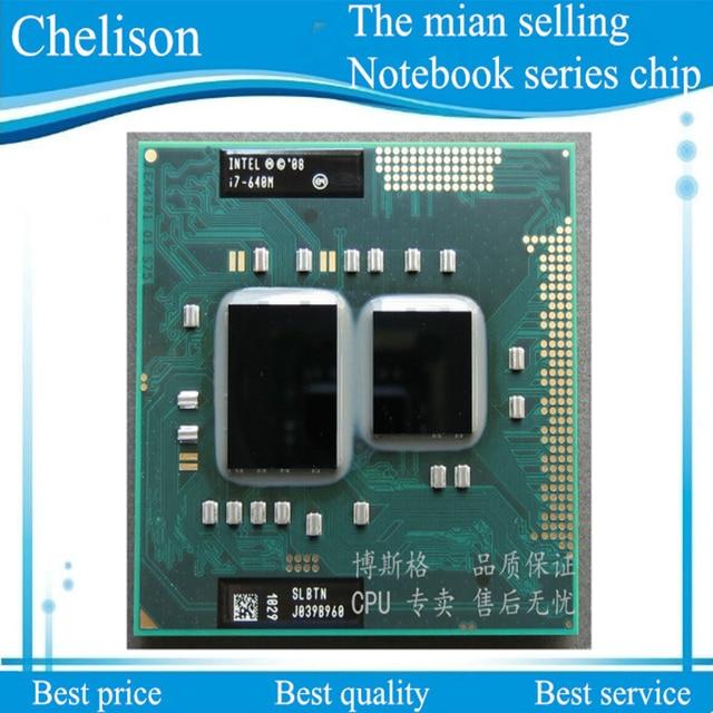 CPU I7-640M SLBTN I7 640M SLBTN 2.8G-3.46G/4M HM55  100%  new and original CPU