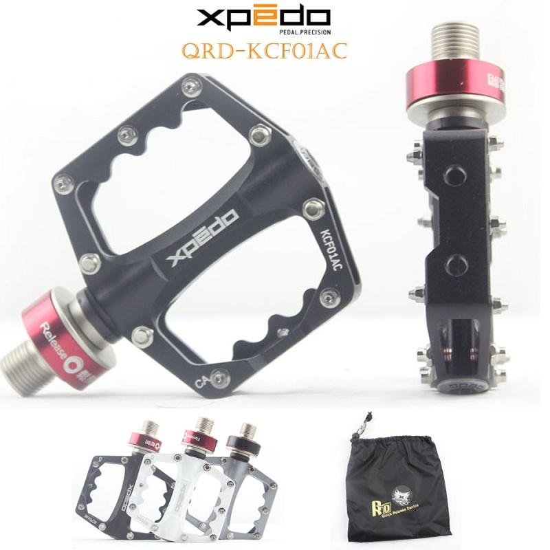 Prix pour Wellgo Xpedo KCF01AC Libération Rapide Vélo En Alliage D'aluminium de Vélo Ultra-Léger Vélo De Route Pédales Vtt Pédale de Roulement