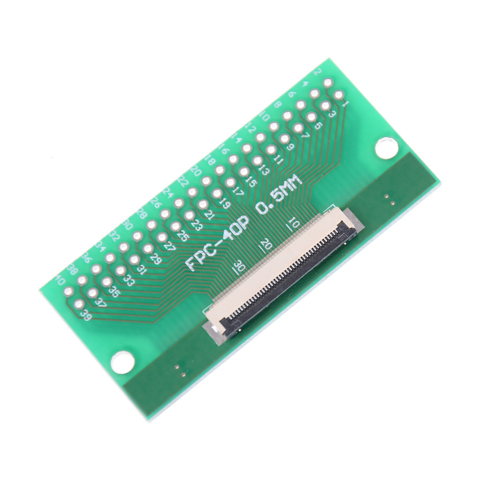 1Pcs 40Pin 0.5mm FFC FPC to 40P DIP 2.54mm PCB Converter Board Adapter DSUK