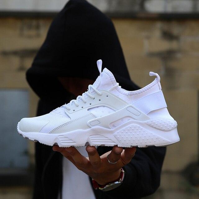 BomKinta תוספות חמה למכור לגפר נעלי גברים מקרית חיצוני דעיכת סניקרס גברים בתוספת גודל זכר הנעלה לבן לגפר נעלי