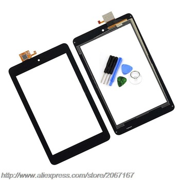 High Quality New Black 7 inch Touch Screen for Dell Venue 7 Tablet 3730 Glass Digitizer Sensor Replacement Free Shipping