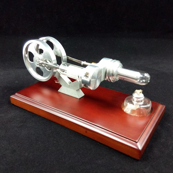 цена на Stirling Engine Model Victory Star Solid Wood Flooring Scientific Experiment Toy Gift