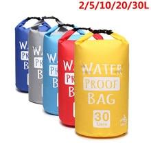 2L/5L/10L/20L/30L Waterproof Dry Bag trekking Bag Sack Storage Bag for Travelling Rafting Boating Kayaking Canoeing Camping