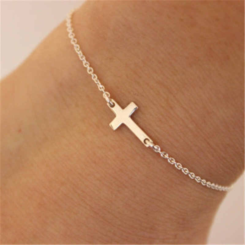 New fashion jewelry Unique Sexy cross Anklet Ankle Bracelet Barefoot Sandals Foot Jewelry Leg Chain On Foot For Women