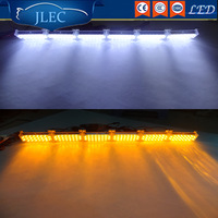 JLEC Car Styling 22X6LED 12V Super Bright LED Strobe Lightbars Red And Blue Flash Dash Lamp