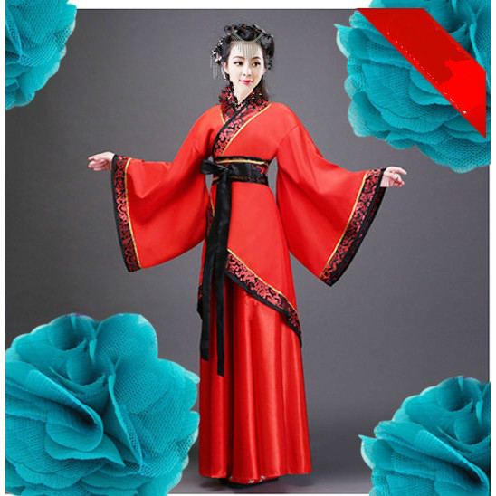 Lady Girl Chinese Traditional Ancient Tang Suit Hanfu Costumes Adult Female Womens Hanfu Dress Stage Costumes Hanfu Dresses summer dresses styles chinese cheongsams for girls traditional chinese dress for children tang suit baby costumes
