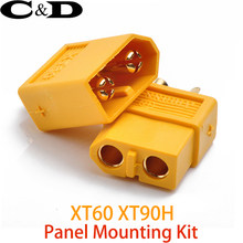 Kit de montaje de Panel Amass XT60 XT90 conectores macho y hembra(China)