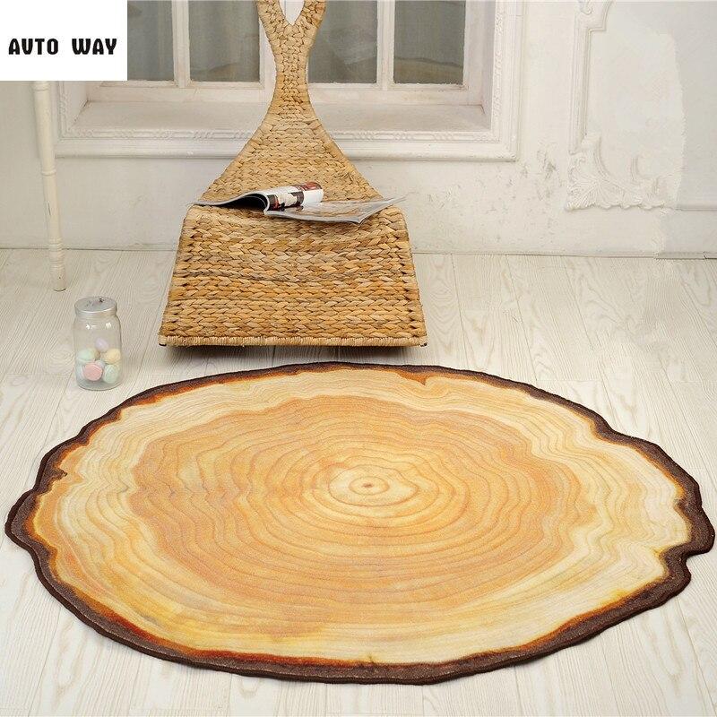 Beautiful Modern Pastoral European Style Rings Bedroom Round Non Slip Carpet Computer  Chair Cushion Hanging Basket Pad Round Mats
