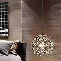 1 Light,E27,with K9 Crystal Shade Hanging Modern LED Pendant Light Lamp For Home Living Room, Lustres e Pendentes Lamparas,AC