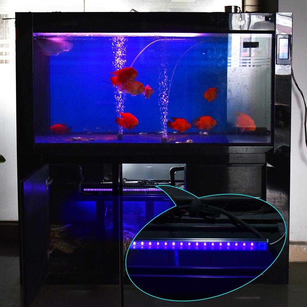 30cm aquarium uv lamp usb ultraviolet filter water cleaner sterilizer lamp 2835 led strip bar. Black Bedroom Furniture Sets. Home Design Ideas