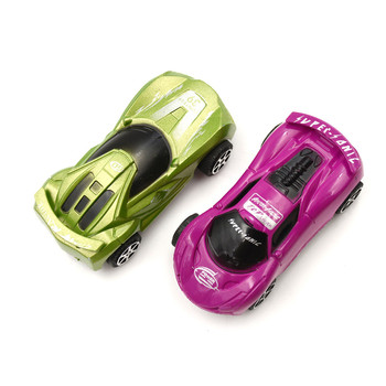 1PC Child Kids plastic Toy Nice Gift Color Random Mini Pull Back Model Car Educational Toy image