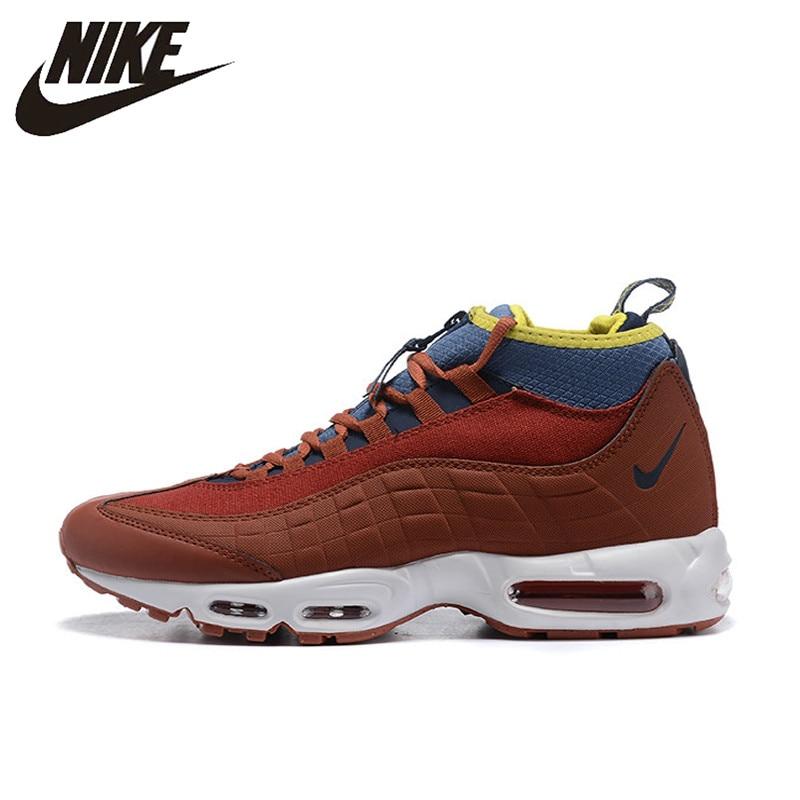 34fea83c39701 BIG OFFER  Original NIKE AIR MAX 95 Sneakerboot Men s Running Shoes ...