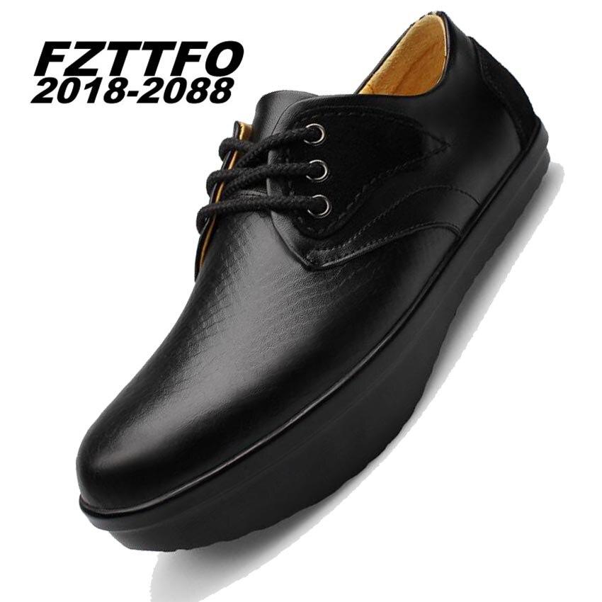 Tamaño 38-44 Zapatos de Cuero Genuinos de Los Hombres, FZTTFO 2018-2088 Zapatos