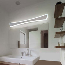 Modern Nordic Led Wall Lamps Sconce luminaria Kitchen Bathroom Mirror Led Lights For Home Decor Fixture White Iron Acrylic avize