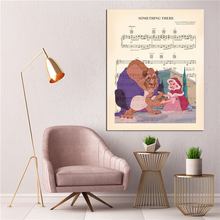 Beauty And The Beast Something There Canvas Posters Prints Wall Art Painting Decorative Picture Modern Home Decoration Artwork