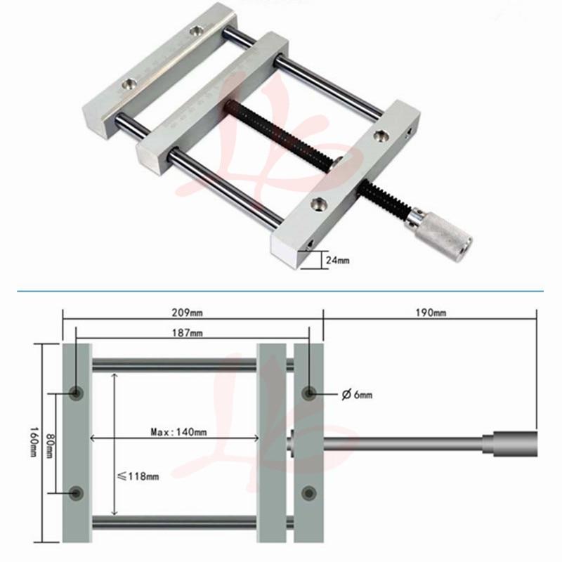 CNC Milling Machine Wood Router QGG Precise Manual Flat Vise 187mm Plain Vice cnc 5axis a aixs rotary axis t chuck type for cnc router cnc milling machine best quality