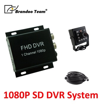 1CH 1080P FHD TAXI DVR+1PCS IR indoor 2.0MP AHD camera+5meters video cable, taxi recorder system