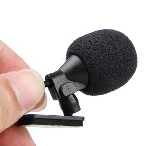 Image 2 - Auto Audio Mikrofon 3,5mm Clip Jack Stecker Mic Stereo Mini Wired Externe Mikrofon Für Auto DVD Radio 3m lange Profis