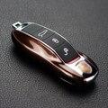 Café Tampa Fob Chave do Caso Chave Remoto Modificado Chave Shell Substituição Reequipamento para Porsche Boxster Cayman 911 Cayenne Panamera Macan
