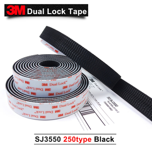 Image 3 - 3M SJ3550 adhesive Sotchmate fasterners with acrylic acid Dual Lock tape 1in*50yards 2rolls/carton