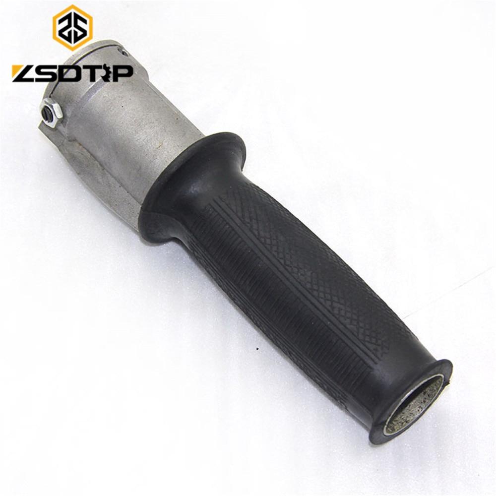 Buen envío ZSDTRP Empuñadura del acelerador del motor Agarre usado en el lado ural KC750 lado caso de la motocicleta del coche para Bmw R12 R71 M-72 motor