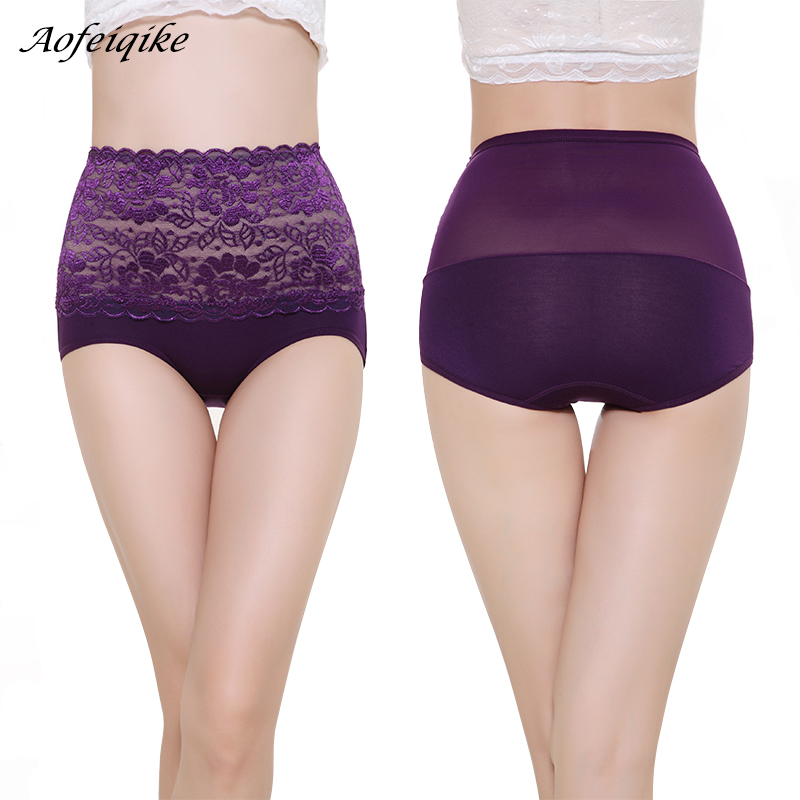 High Waist Body Shaper Briefs Panties Women's Sexy Underwear Slimming Pants Tummy Control Underpants 2018 1