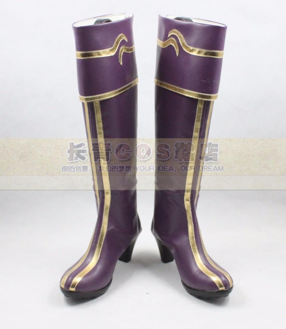 Sivir cosplay Shoes Boots Custom Made 8104
