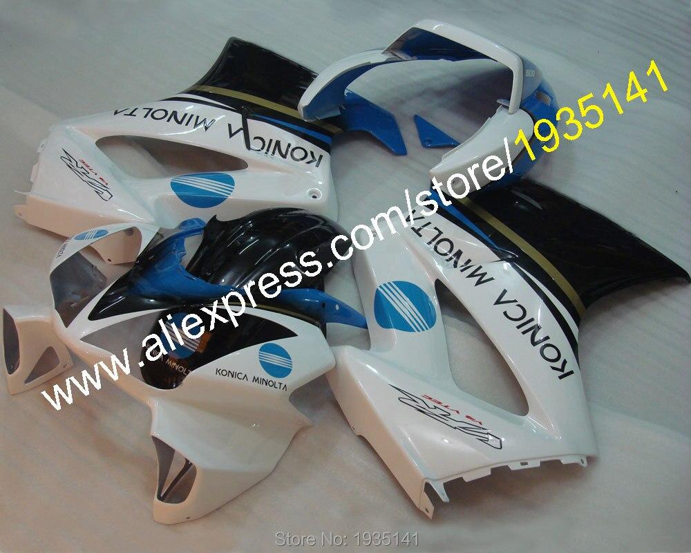 Горячие продаж,мода комплект для Honda ПВП 800 VFR800 2002-2012 02-12 ABS пластик Цвет мотоцикл обтекатель комплект (литья под давлением)