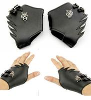 New Animation Final Fantasy Wolf Head Synthetic Leather Gloves Cosplay Accessories