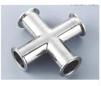 Free Shipping 2 51mm Sanitary Tri Clamp Cross Stainless Steel 304
