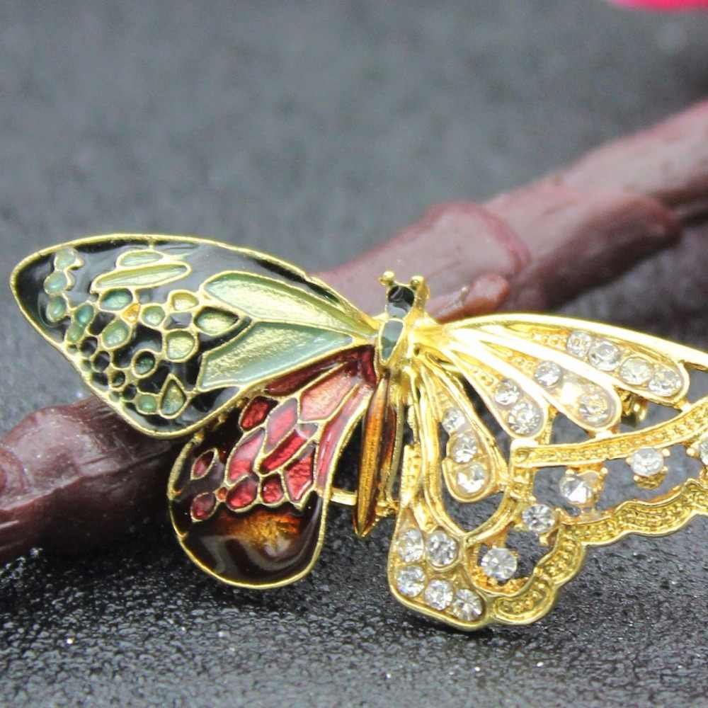 Detail Feedback Questions about Butterfly Brooches For Women