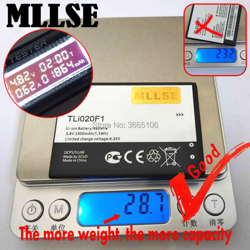 Detail Feedback Questions about MLLSE TLI020F1 TLI020F2Battery for