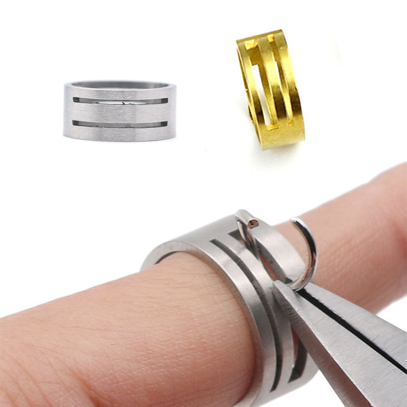 Buy 1 Got 1 Stainless Steel Jump Ring Opener Opening Closing Finger Ring Round Circle Bead Plier DIY Jewelry Finding Making Tool