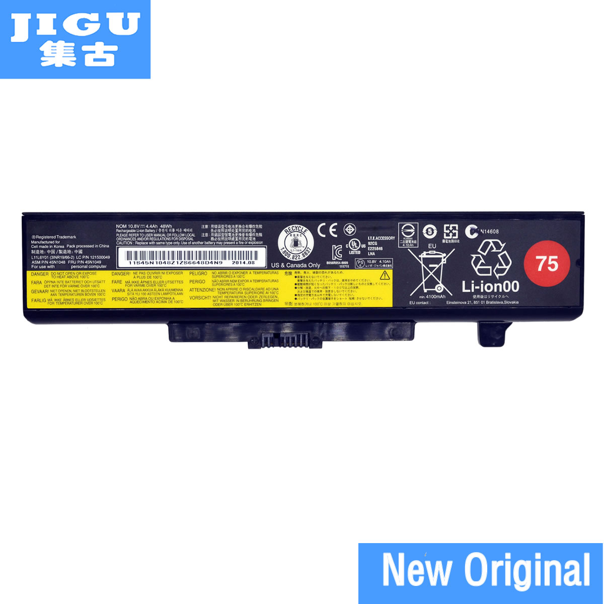 JIGU Original Laptop Battery For Lenovo V580 V580C Y480 Y480P Y485 Y580 Y580A Z380 Z480 Z485 Z580 Z585 V480S V480u
