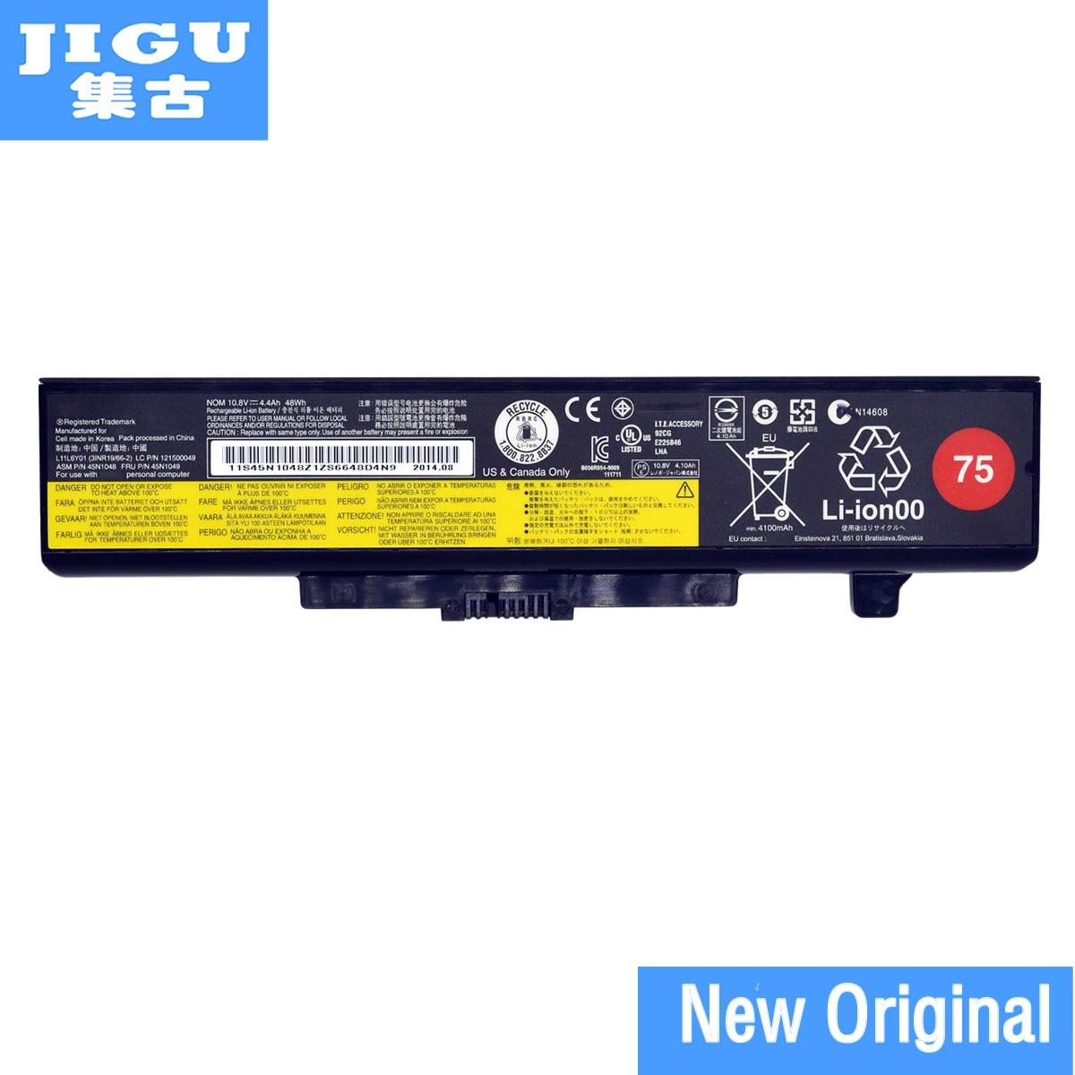 JIGU Original Laptop Battery For Lenovo V580 V580C Y480 Y480P Y485 Y580 Y580A Z380 Z480 Z485 Z580 Z585 V480S V480u