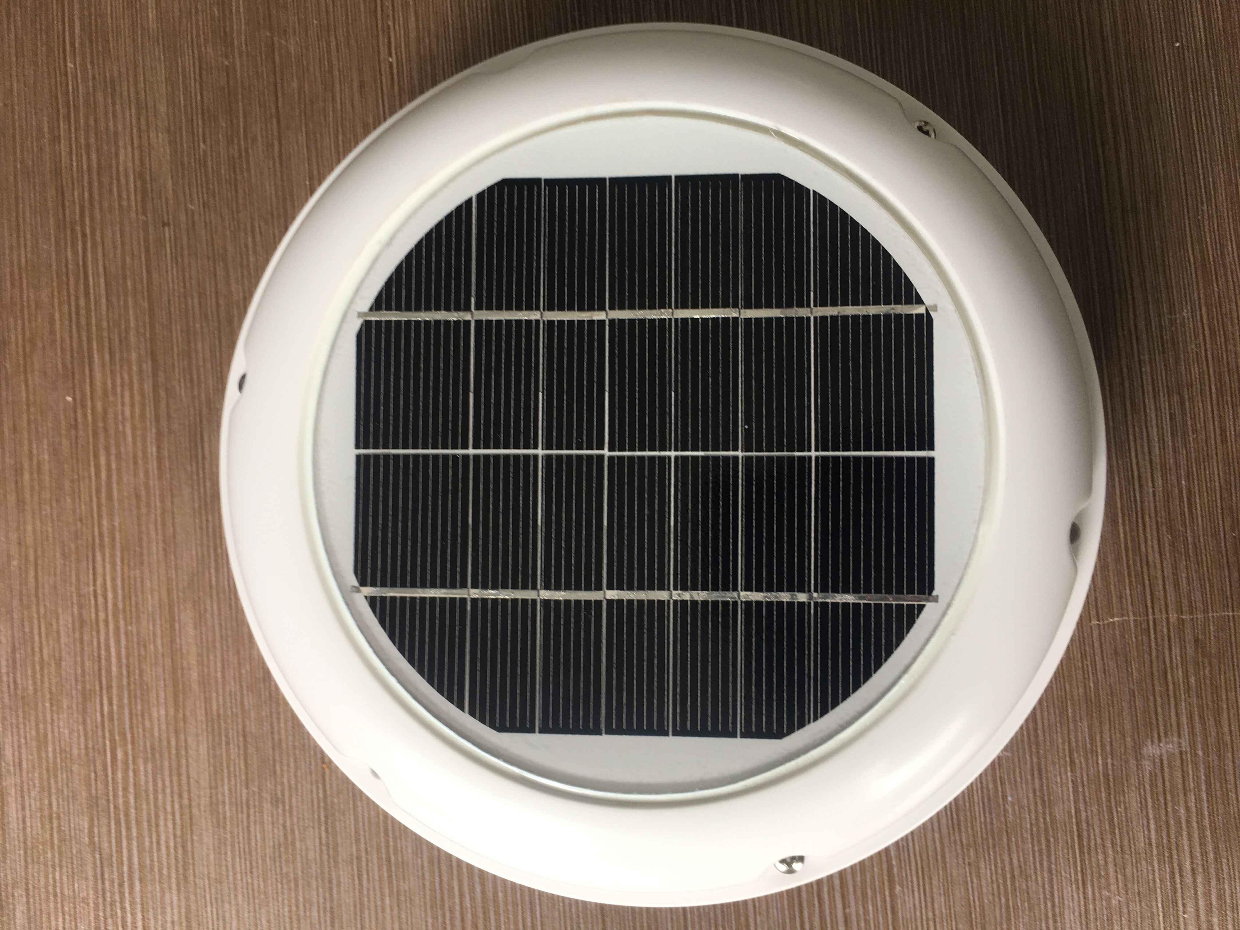 Tata Surya 2.5W Ventilator Kipas Otomatis Ventilasi Digunakan untuk Kamar Mandi Gudang Rumah Konservasi Karavan Perahu Rumah Hijau