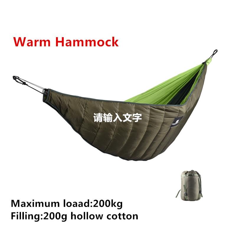 Sleeping Bags Outdoor Winter Warm Sleeping Bag Hammock Underquilt Sleeping Bag Warmer Under Quilt Blanket For Outdoor Camping Hiking Camping & Hiking
