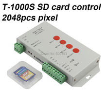 TM1804/LPD6803/DMX512/WS2811/WS2812b/WS2813 DC5-24V RGB Пиксел Контроллер для Pixel светодиодные фонари, МАКС управления 2048 шт. IC