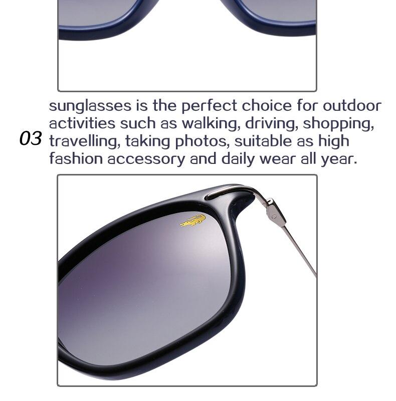 9da62307a7e Krokodil New Luxury Brand Designer Ladies Square Polarized ...