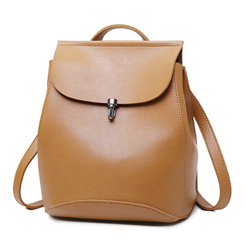 Fashion Backpack Quality Leather Backpacks For Teenage Girls Main Women  Backpack School Mochilas Escolar Shoulder Bags  Jy-f10 #2