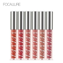 Focallure New Arrival Liquid Lipstick with Repair Moisturizing Valvet Effect Naturally light and thin lips makeup lipstick