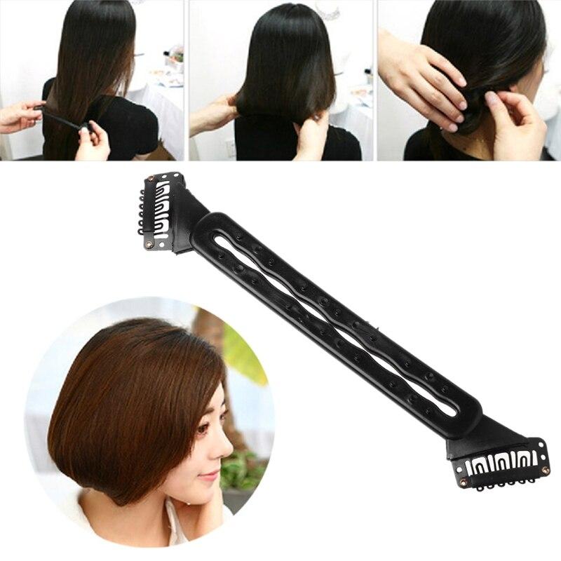 1Pc Hair Braider Braiding Tool Short Bob Hairstyle Clips Women Salon Beauty Gift